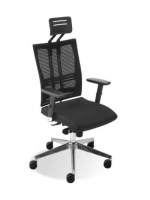 Scaun de Birou Ergonomic tip Office @-Motion R15K HR steel 33 black*